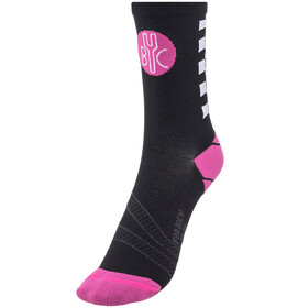 FOR.BICY Chequer Socks Women Black/Pink/White
